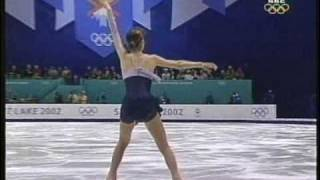 Fumie Suguri 村主 章枝 (JPN) - 2002 Salt Lake City, Figure Skating, Ladies' Free Skate 村主章枝 検索動画 16
