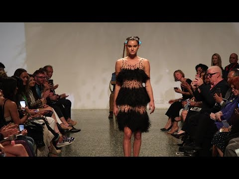 The Runway for MFAH Fashion Fusion 2019