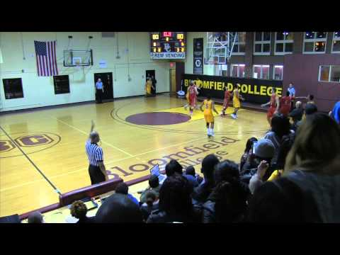 BLOOMFIELD COLLEGE MARVIN WILLIAMS BUZZER BEATER OVER CALDWELL 12:3:14