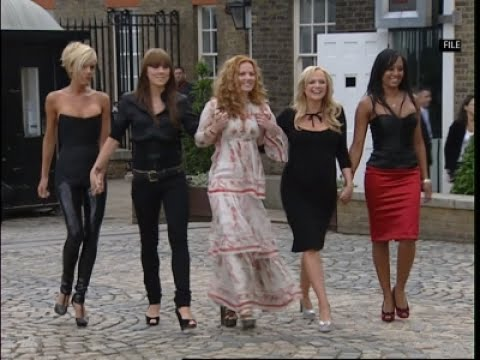 Geri 'open' to recording with ex-Spice Girls