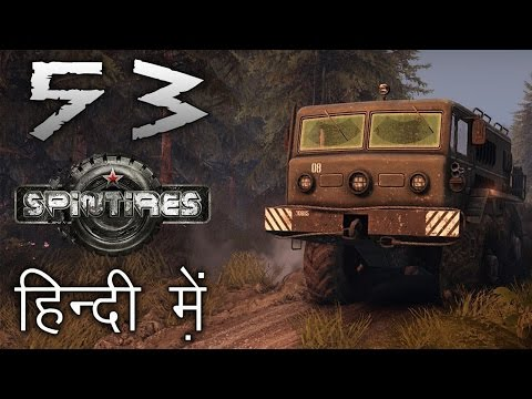 SPINTIRES : Volcano Map #53 || DRIVING ON A VOLCANO || Indian Gamer in Hindi (हिंदी)