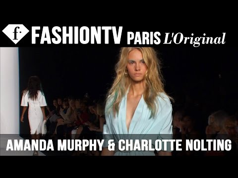 Models Amanda Murphy & Saskia de Brauw | Beauty Trends for Spring/Summer 2015 | FashionTV
