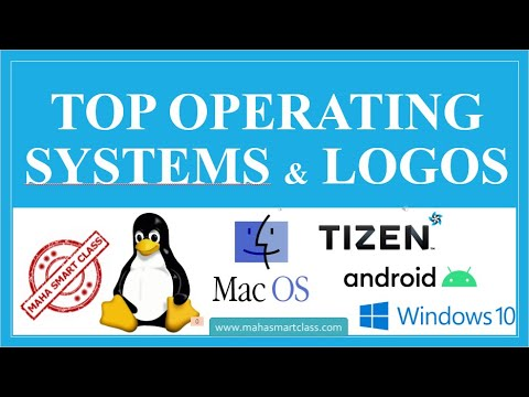 Top Computer Operating Systems And Their Logos