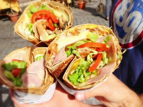 Еда в Париже - Самые вкусные французские блины - где поесть вкусно и недорого в Париже