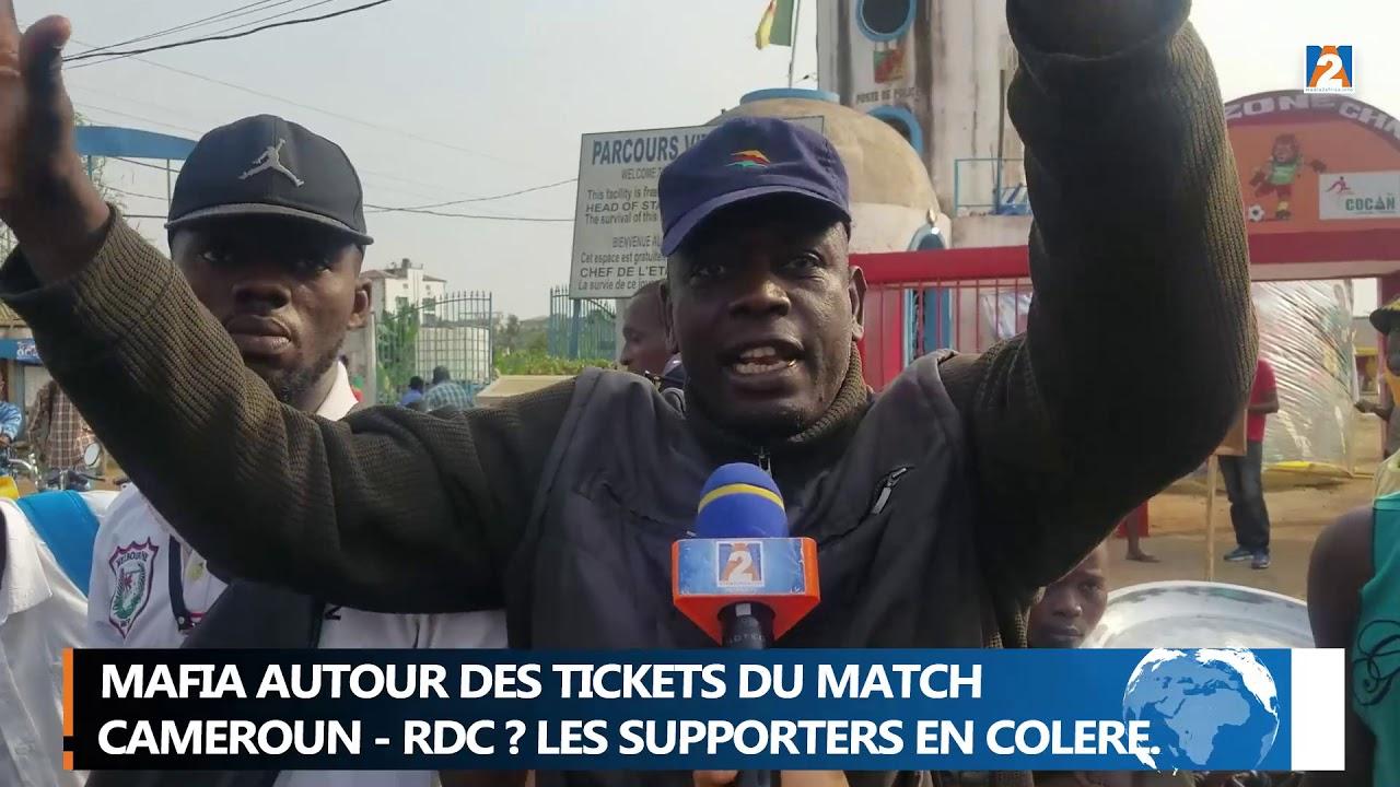 1/4 FINAL CHAN 2021: CAMEROUN Vs R.D.C MAFIA AUTOUR DES TICKETS DU MATCH ?