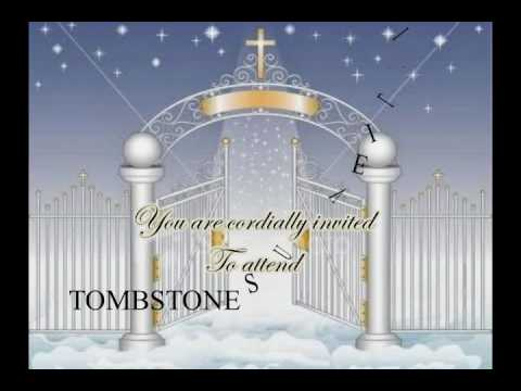Tombstone unveiling video invitation youtube tombstone unveiling video invitation altavistaventures Image collections