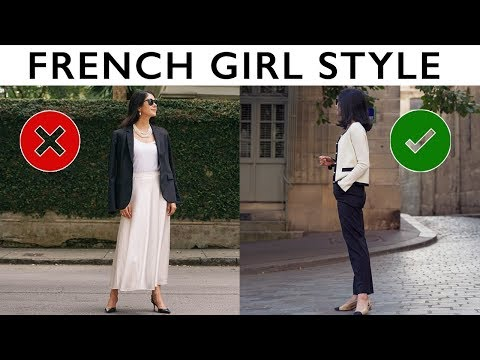 How To Dress Like A French Woman   French Style Guide