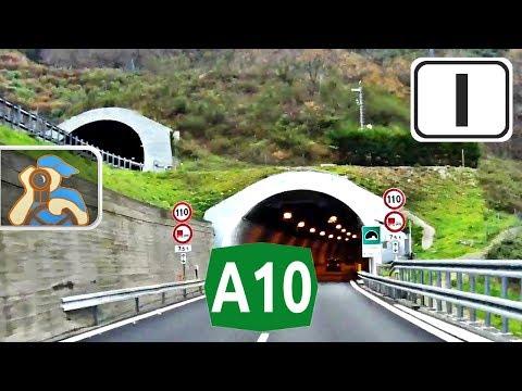 Italia. A10. ✕ Andora - ✕ A26