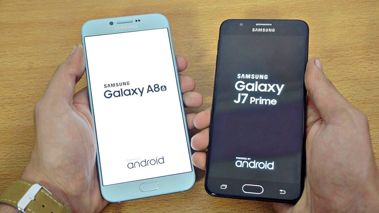 Samsung Galaxy A8 2016 Vs J7 Prime