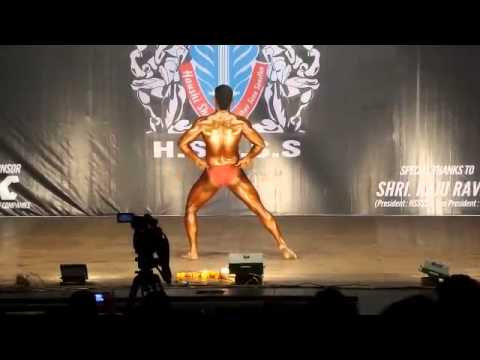bodybuilding league best poser vinayak ghadse
