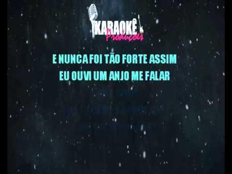 Um Anjo Veio Me Falar Rouge Karaoke Playback Backs Vocais Youtube