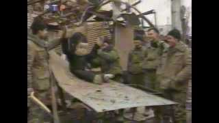 Настоящая война в Чечне
