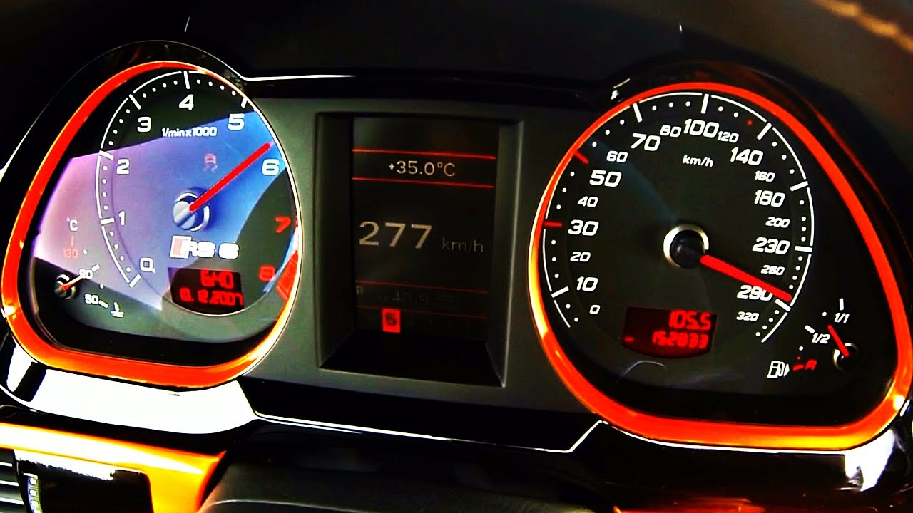 Audi Rs6 Avant V10 750hp Acceleration 0 100 0 200 Sound