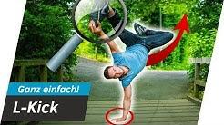 Airfreeze / L-Kick Tutorial- Handstand auf EINER HAND lernen | Andiletics