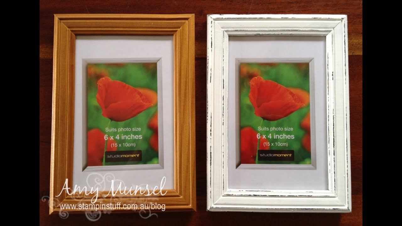 Shabby Chic Painting Technique How To Youtube
