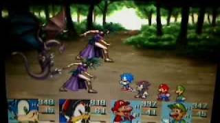 Mario and Sonic RPG Demo-Forest of Light Part 3 (Lv. 9-Lv. 11)