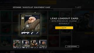 Dirty Bomb Ghostclip Case Opening