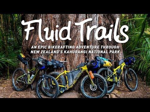 Fluid Trails- An Epic Bikerafting Adventure In Kahurangi National Park