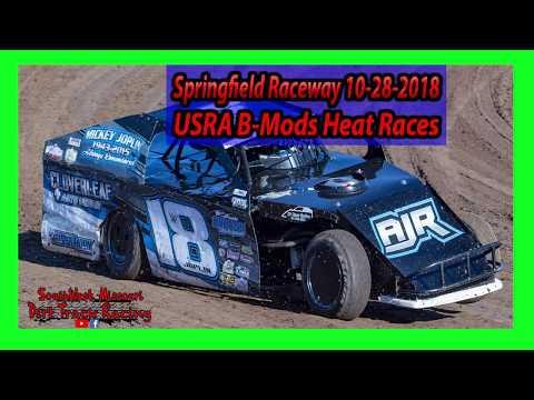 USRA B Mods - Heat Races - Springfield Raceway 10/28/2018 - Willard Project Grad