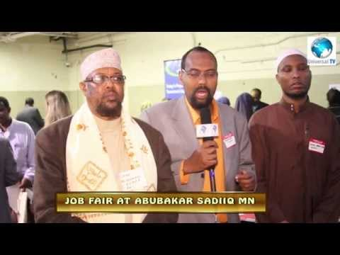JOB FAIR AT ABUBAKAR SADIIQ MINNEAPOLIS,MINNESOTA