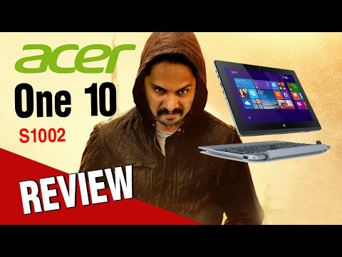 Acer One 10 Review  |  S1002 - Latest Version