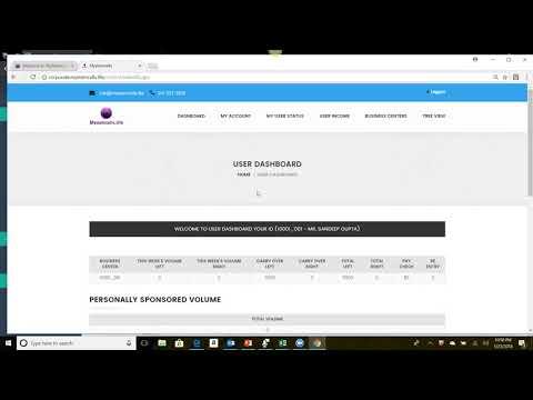 SNSsystem.com: Relationship marketing software - Binary compensasion plan