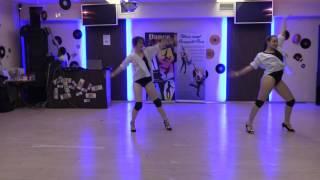 """Lili Dance танцевальный салон """"Контрасты"""" Тюрина Мария и Михалева Яна."""