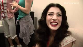 Ivi Adamou - La la Love (Cyprus) Second rehearsal