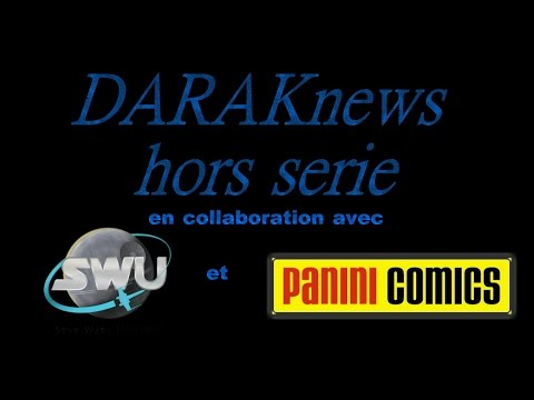 DARAKnews HS sortie des Comics Star Wars chez Panini Comics France