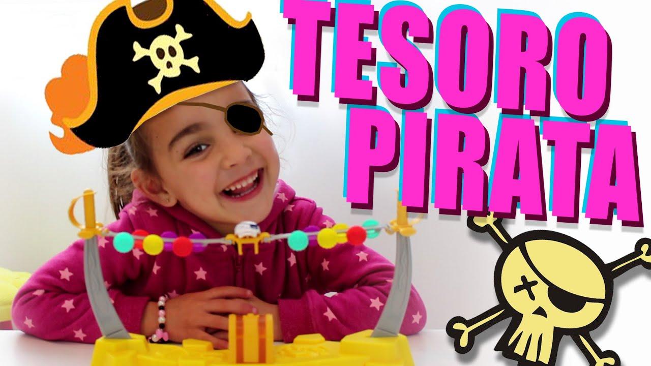 Tesoro pirata juego de mesa con andrea divertilandia for Divertilandia juego de mesa