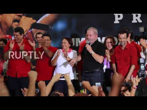 Brazil: Lula vows to fight on until the 2018 presidential elections