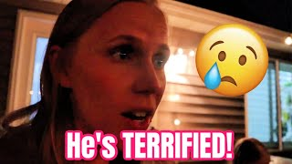 He's terrified!!! | MEET THE MILLERS FAMILY VLOGS