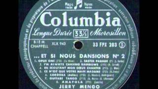 JERRY MENGO - FLATBUSH LOCAL - LP ET SI NOUS DANSIONS N°2 - COLUMBIA FPX 203