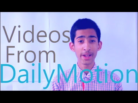 How To Download Videos From DailyMotion! Online! 2017! 100% Working!!