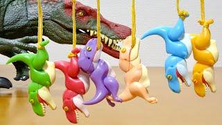 珍しい逆さのティラノサウルス ガチャ ぶらぶらティラノ ※本チャンネルの動画は 13歳未満を対象とした動画ではございません。 大人の方がプレゼント用など 購入時の参考 ...