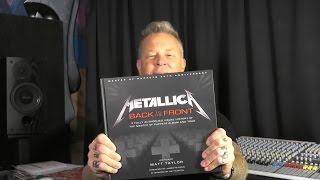 "James Announces ""Metallica: Back to the Front"" Book"
