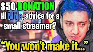 Ninja Gives Harsh TRUTH on Why 99% of Streamers NEVER Make it Big...
