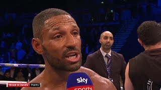 POST-FIGHT! Kell Brook passionately calls out Amir Khan after Michael Zerafa win