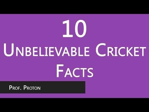 Unbelievable Cricket Facts