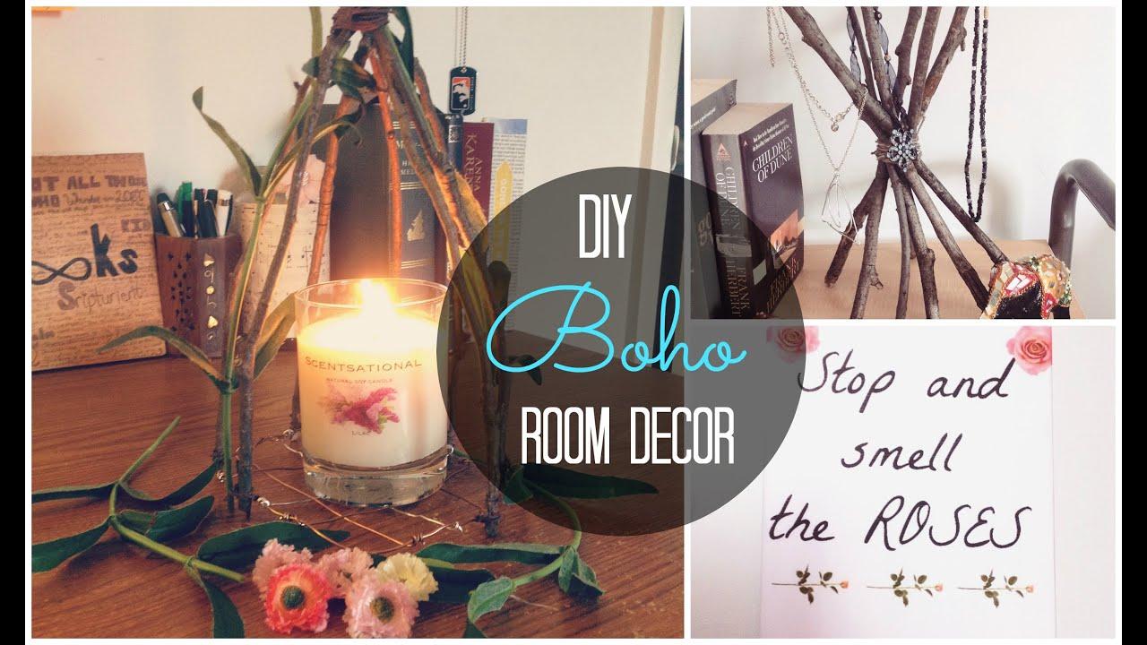 DIY Spring/Boho Room Decor