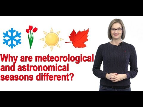 Why are meteorological and astronomical seasons different? On the Radar with Kelly Reardon