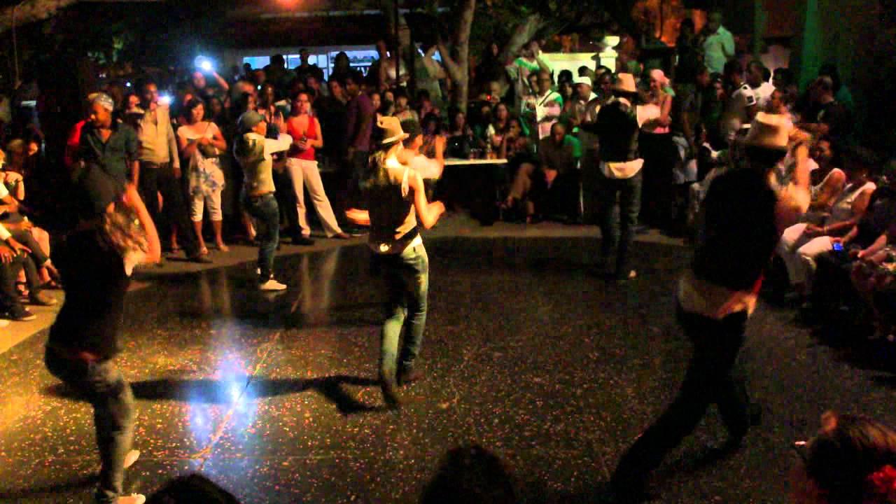 Performance at Salsa Club 1830, Havana - Cuba - YouTube