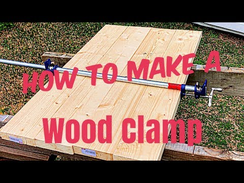 How to make your own wood clamps