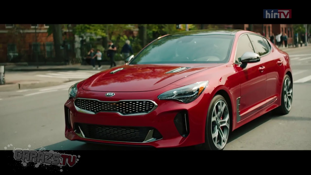 kia stinger v6 3 3 twin turbo 2018 youtube. Black Bedroom Furniture Sets. Home Design Ideas