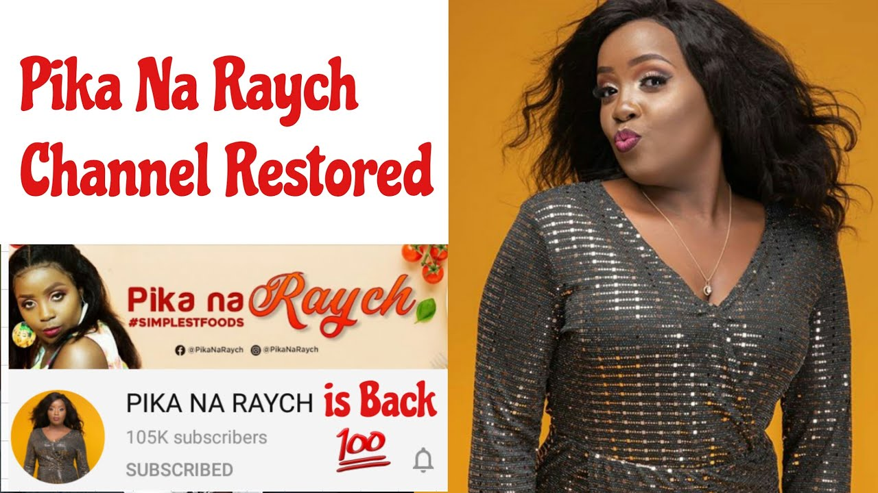 Pika na Raych channel is back | All videos restored #PikanaRaych #RaychGitau #Kymo