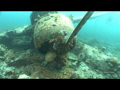 diving WWII Wrecks around Palau