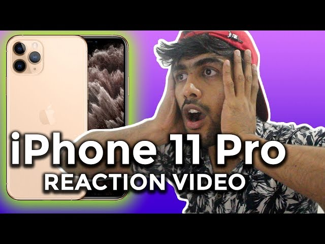 iPhone 11 Pro EXCLUSIVE ON HAND REACTION VIDEO! - 2019 September