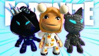 FREE Fortnite Season 7 Skins - LittleBigPlanet 3 PS4 Gameplay | EpicLBPTime