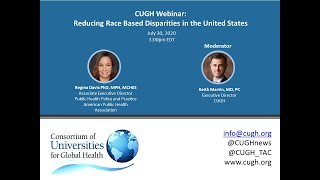 Reducing Race Based Disparities in the United States