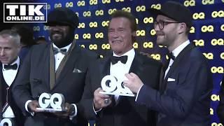 Mark Forster post mit Schwarzenegger! GQ Award 2017